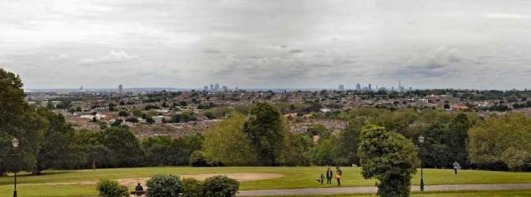 View From Ally Pally | © Villy Fink Isaksen/WikiCommons
