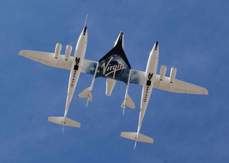 Virgin Galactic Aircraft   © Jeff Foust/Wikicommons
