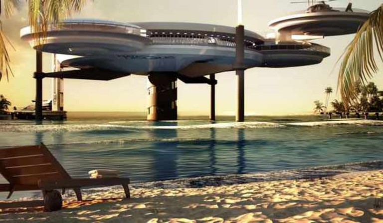 Dubai's Water Discus Hotel   © CityDubai/Wikicommons