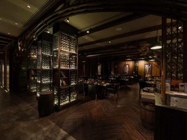 Dining Hall at the Medici | Courtesy of Medici Kitchen and Bar