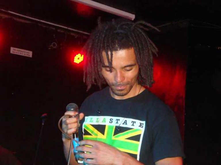 "Akala tours the UK, promoting the ""Hip-Hop Shakespeare"" workshops and his own music 