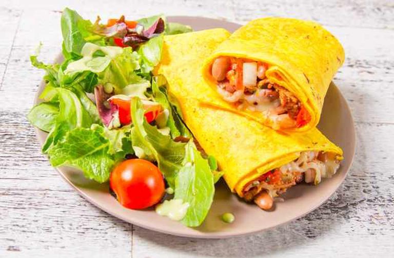 Pulled Pork & PBR Burrito | Sprig
