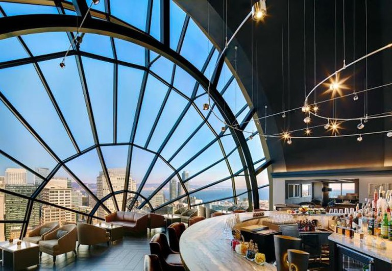 ​The View Lounge, Courtesy of San Francisco Marriott Marquis