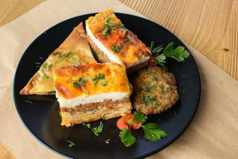 Pastitsio dish | Courtesy of Ydria Restaurant