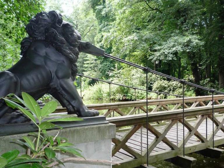Tiergarten, Loewenbruecke | © Manfred Brückels/WikiCommons