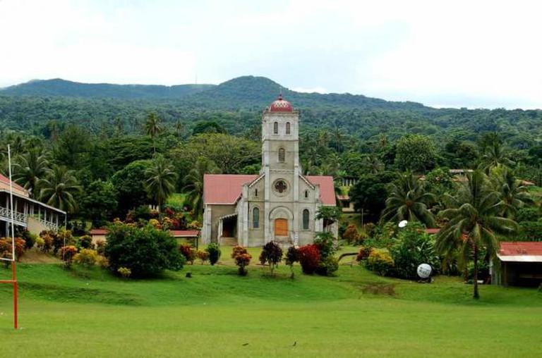 Wairiki Catholic Church   © Dan McKay/ Flickr