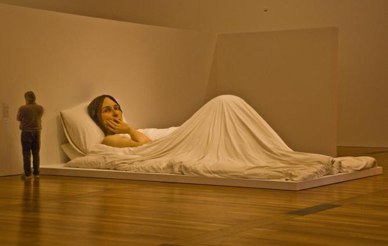 'In Bed' by Ron Meuck   © Phillip Capper/Flickr