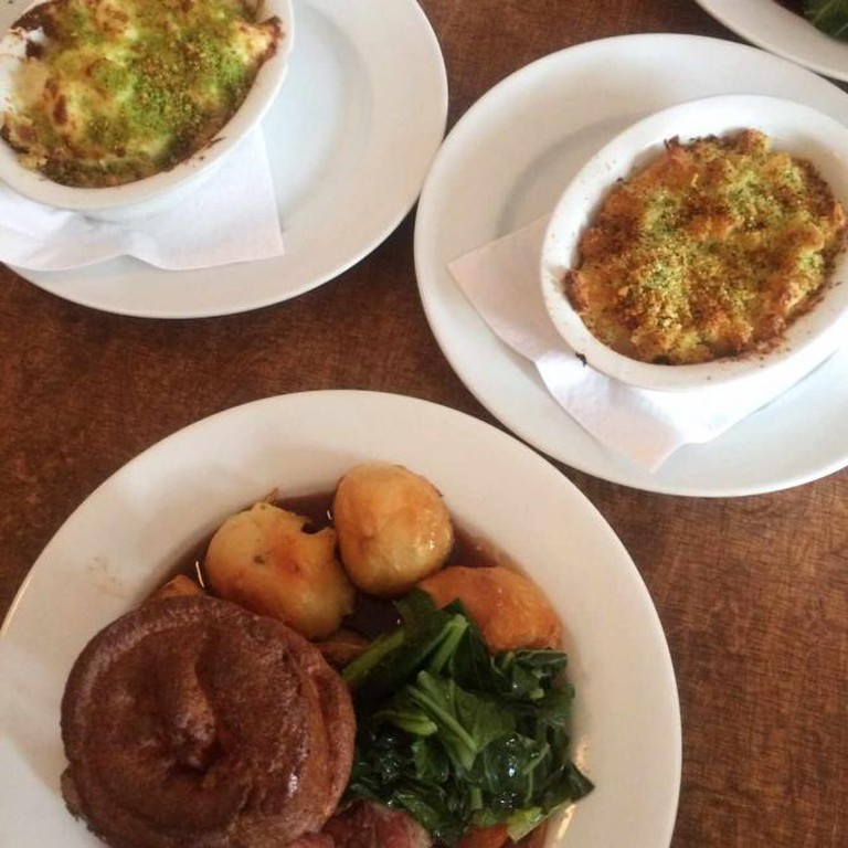 A sourced image: Roast Dinner   Courtesy Sophie Davis