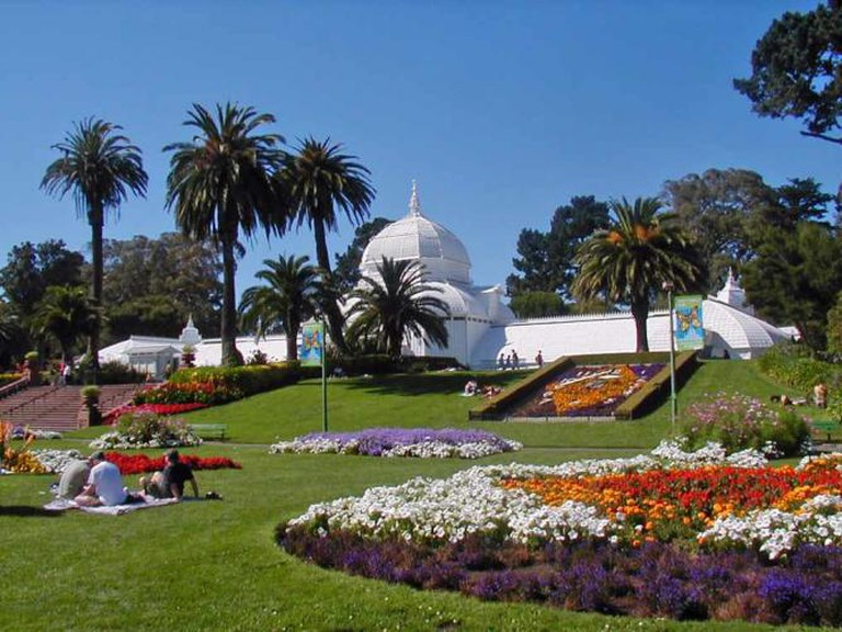 Lay out in Golden Gate Park