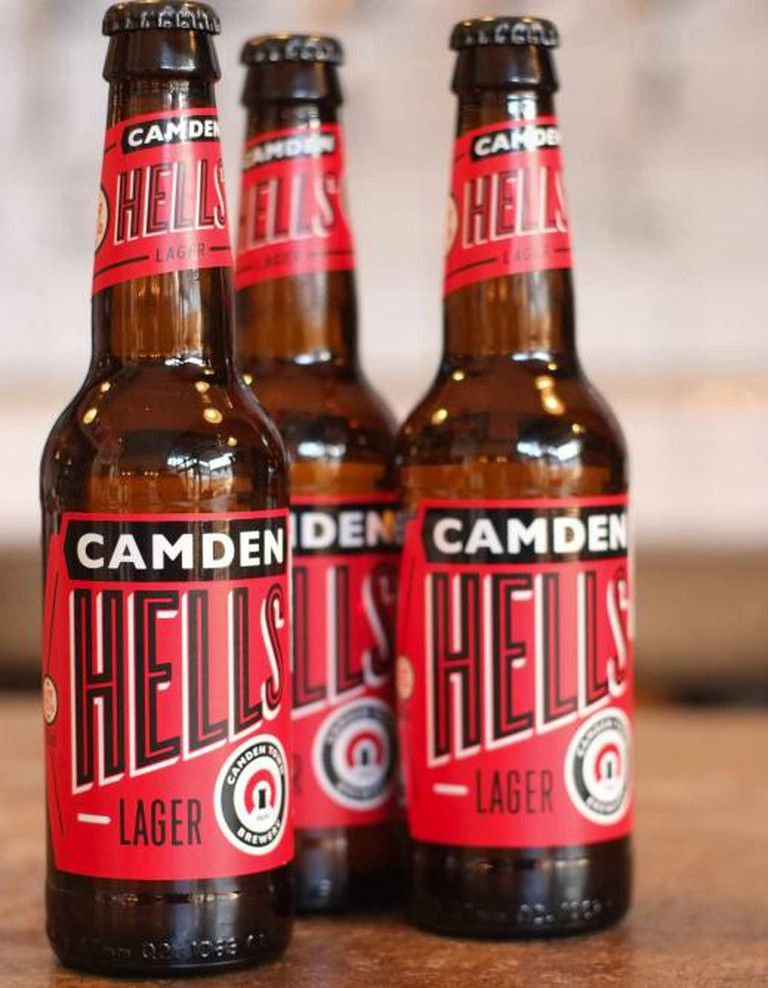 Camden Town Brewery's Hells Lager