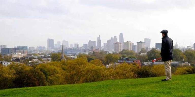 View of London from Primrose Hill.