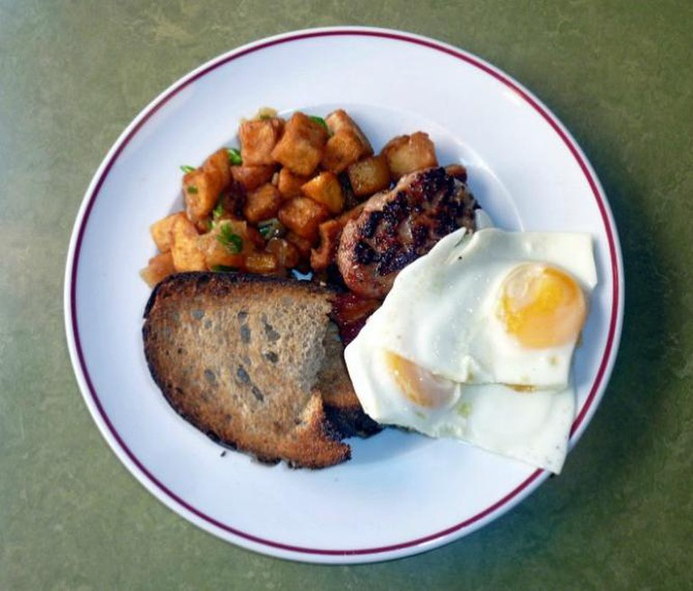 Jackson + Rye, Farmers Breakfast with Bacon   © Homegirl London