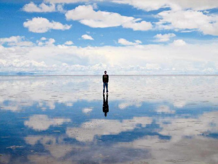 The Salar Covered With Water | © Chechevere/WikiCommons