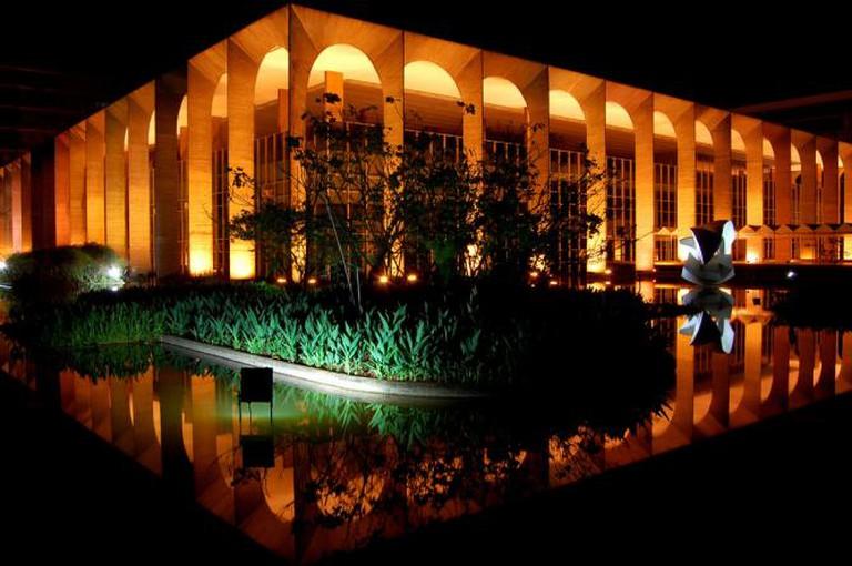 Itamaraty Palace © Sorayara Lacerda/Flickr