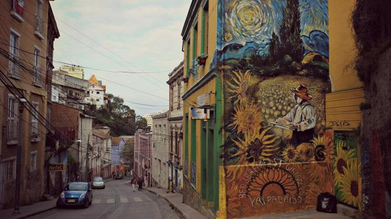 Valparaíso street art © We Travel The World/Flickr