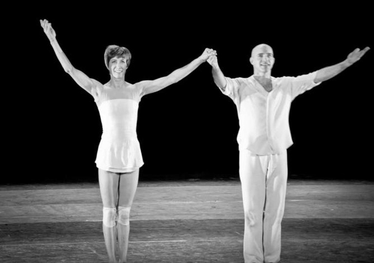 Sylvie Guillem with Russell Maliphant | © Catalina lordache/Flickr