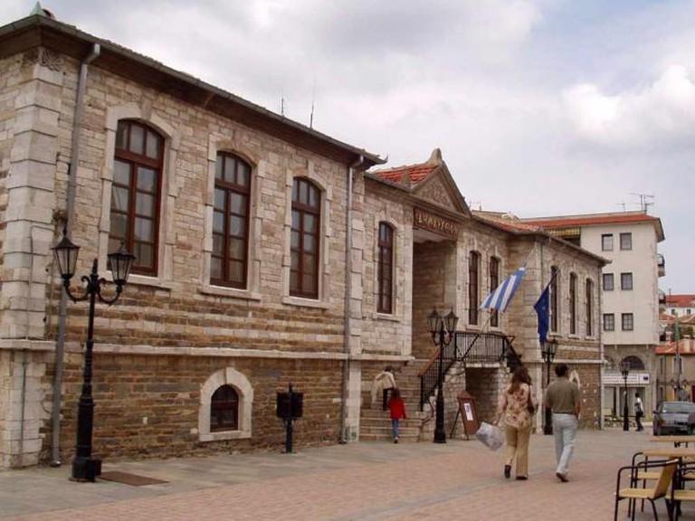 Polygiros Townhall | © Herrick/WikiCommons