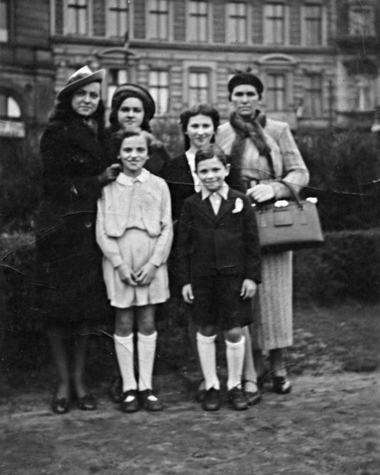 The Grajonca Family  Berlin, ca. 1938  Gelatin silver print  Collection of David and Alex Graham