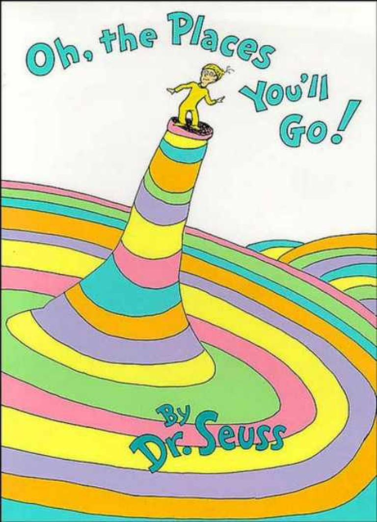 Oh, the Places You'll Go! – Dr. Seuss | © Jenblower/WikiCommons