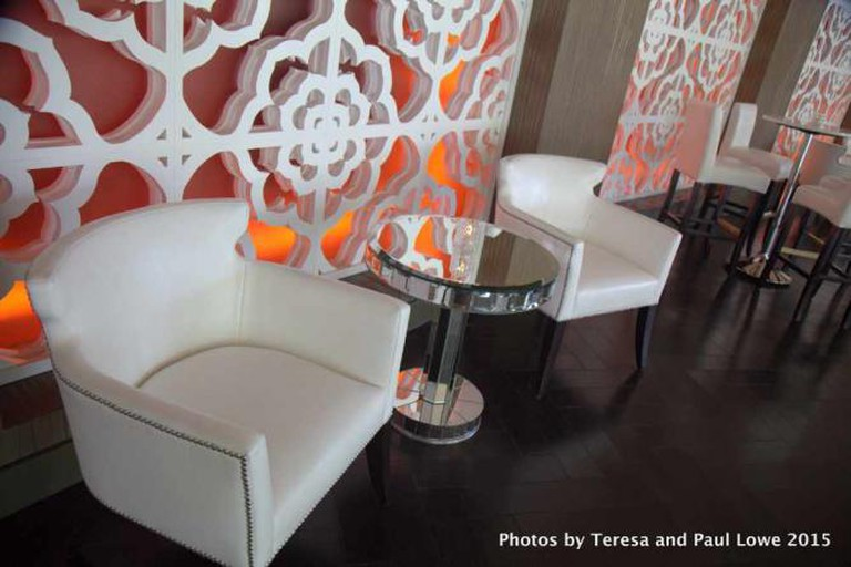 The Sidebar Lounge is the gathering place to listen to great music and have a nice cocktail.