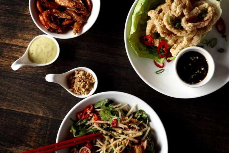 Delicious Asiatic flavours   Image courtesy of Tom Phat