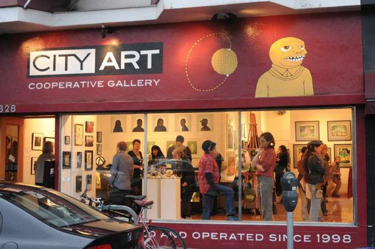 City Art Cooperative Gallery | © Trish Tunney Photography