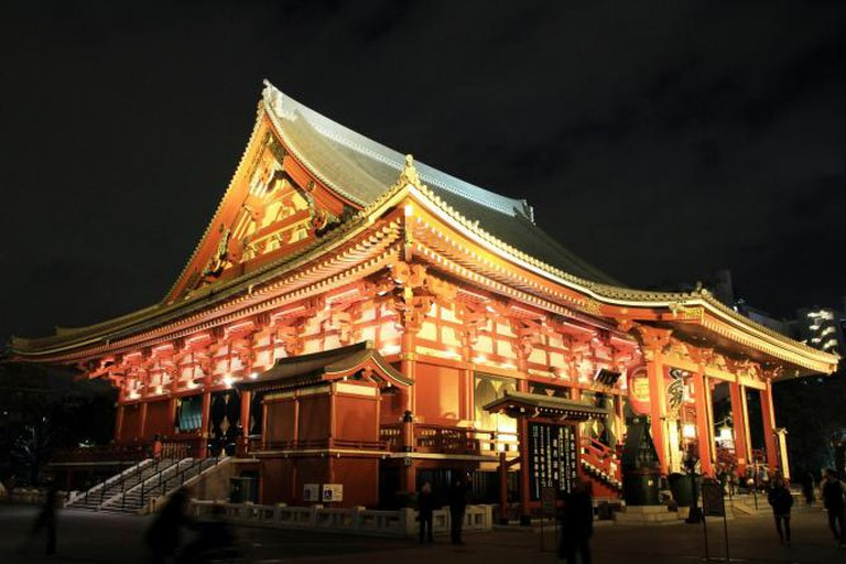 Sensoji Temple | © OiMax/Flickr