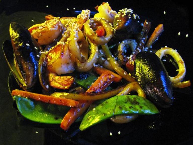 Warm Seafood Salad   © 15012010/Flickr