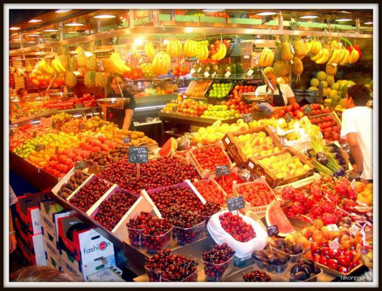 Fruit at the Boquería Market   © Nikonmania/Flickr
