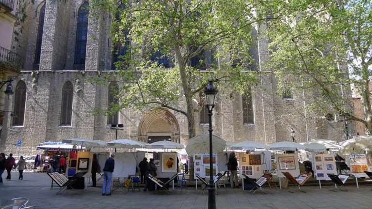 The Square of San José Oriol   © José Luis Filpo Cabana