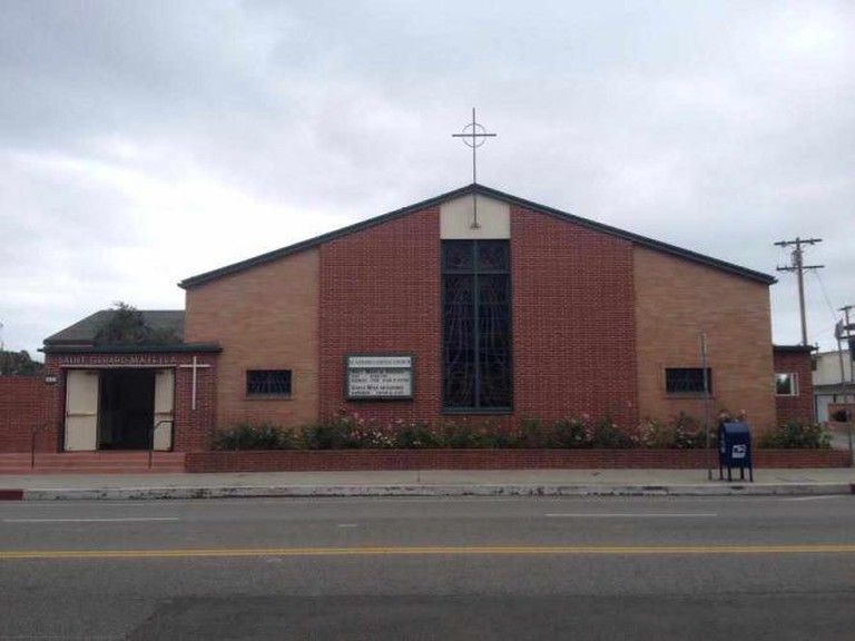 Saint Gerard Majella Church, a focal point of Mexican-American community life in Del Rey