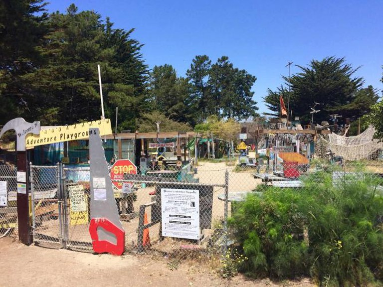 Entrance and Tool Area | Adventure Playground
