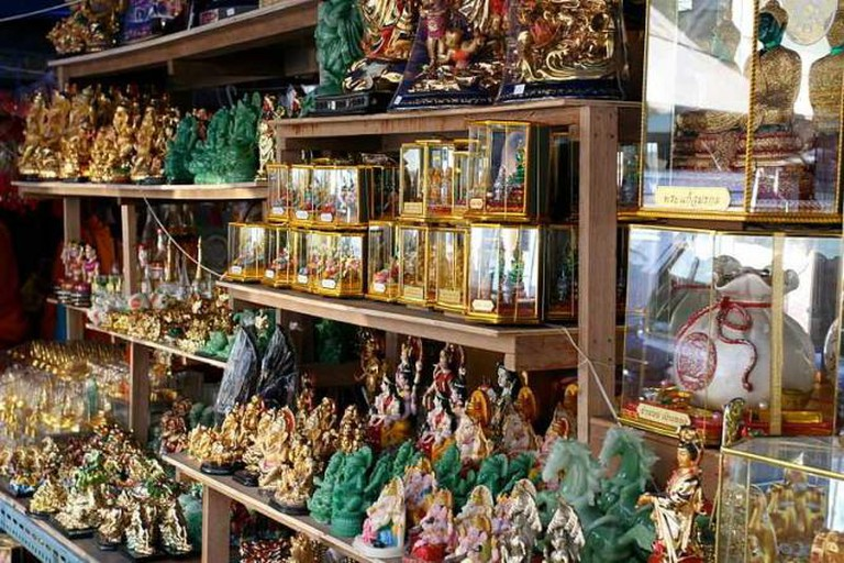 Buddha statues in Amulet Market