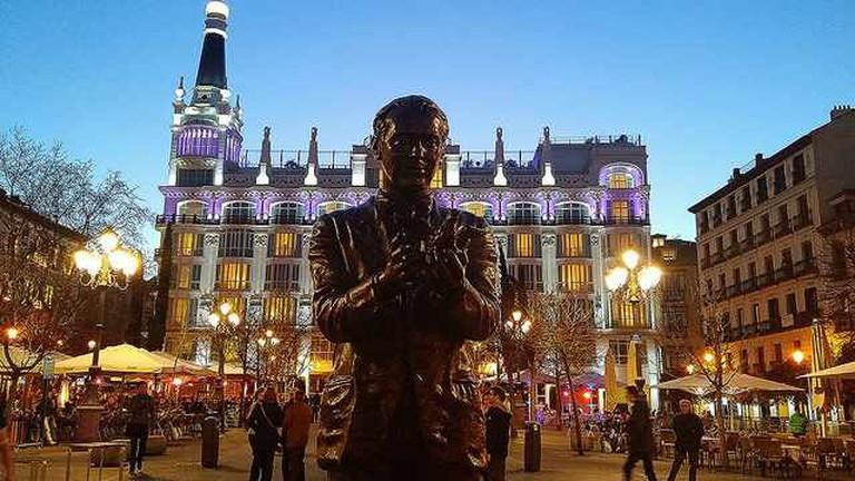 Statue of Lorca | © Javi/Flickr