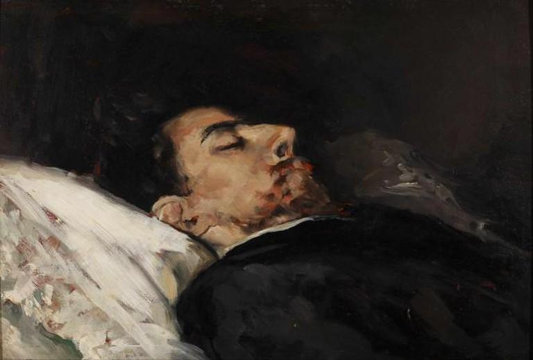 Vicente Palmaroli - Gustavo Adolfo Bécquer on his Death Bed | © Google Cultural Institute/Wikipedia
