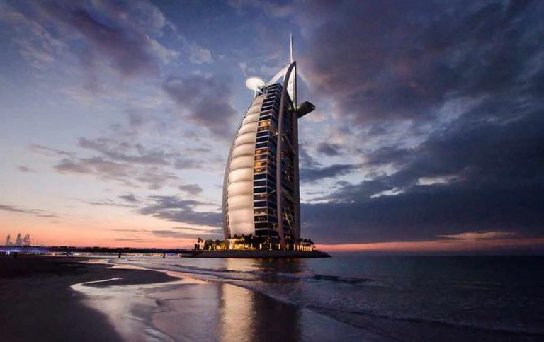 Burj Al Arab Hotel, Dubai|© Chris Hopkins/ Flickr