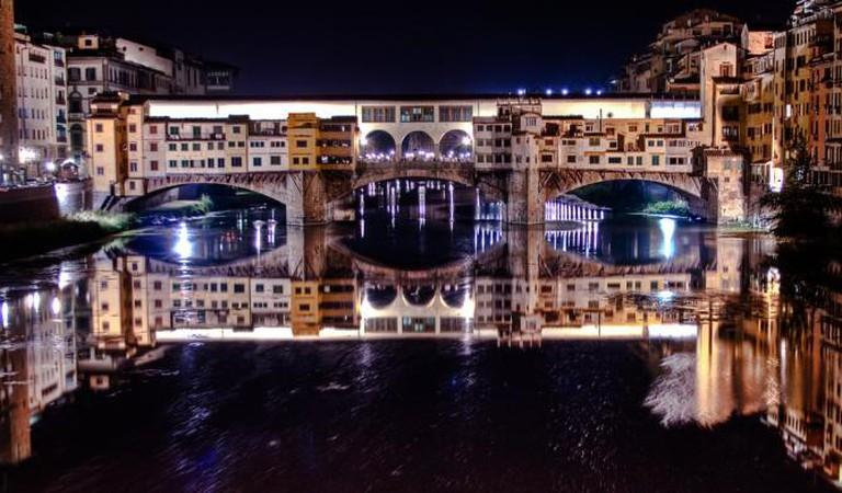Ponte Vecchio by night | © Paolo Margari/Flickr