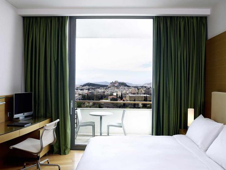 Room with a view of the Acropolis | Courtesy of Hilton