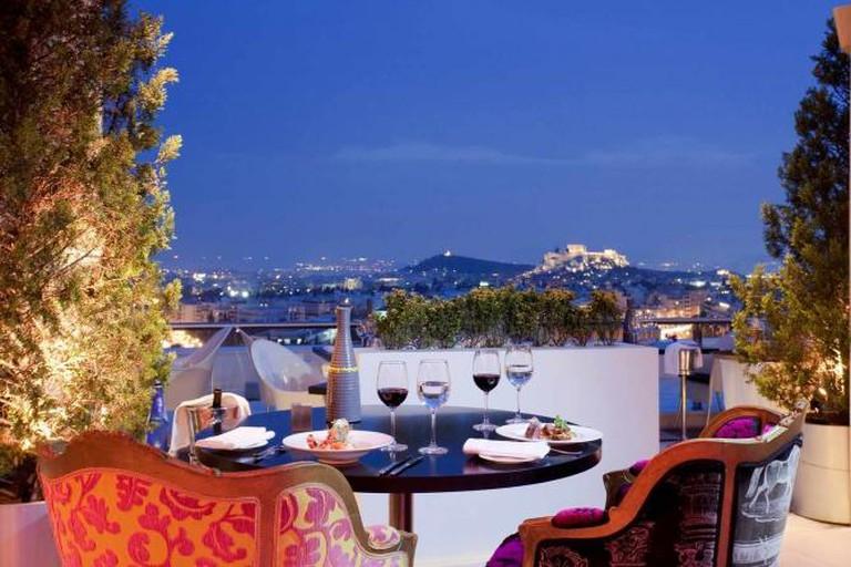 Hilton's Galaxy Bar | Courtesy of Hilton