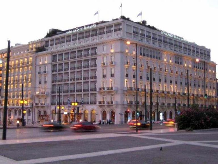 Hotel Grande Bretagne exterior | © Salonica84/WikiCommons