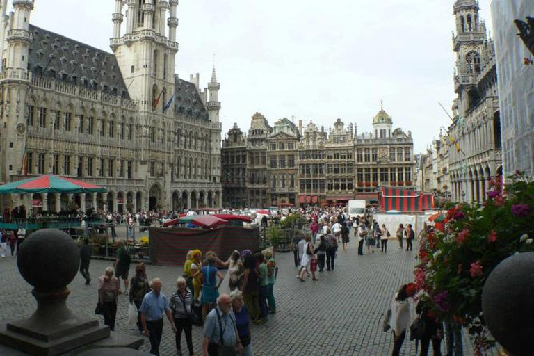 Bruxelles Maisons Bordant la Grand Place | © Galaxa1/WikiCommons