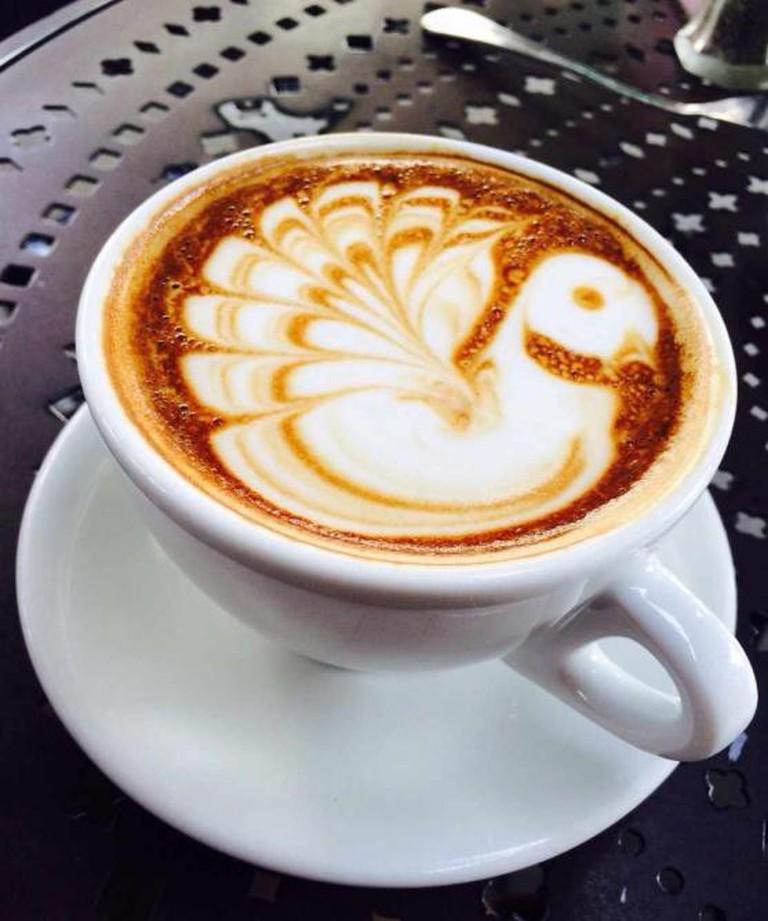 Urth Caffé latte| © Rosa Chang