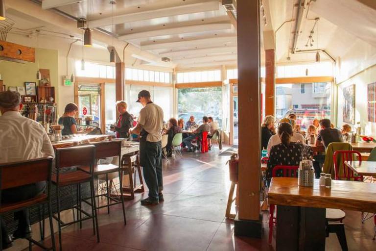Interior of Cafe |  © Precita Park Cafe
