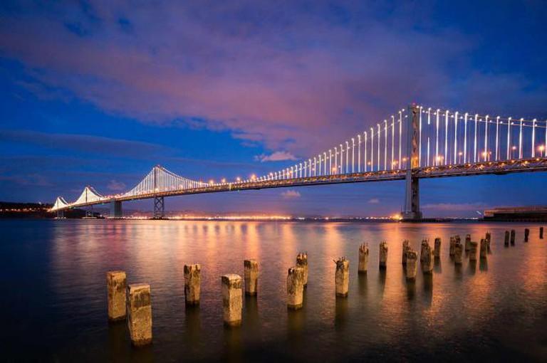 Bay Bridge   © Steven Bratman