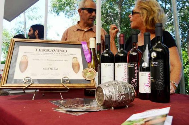 Stern Winery Received Several Awards Including Terravino, Courtesy of Yael Tamar
