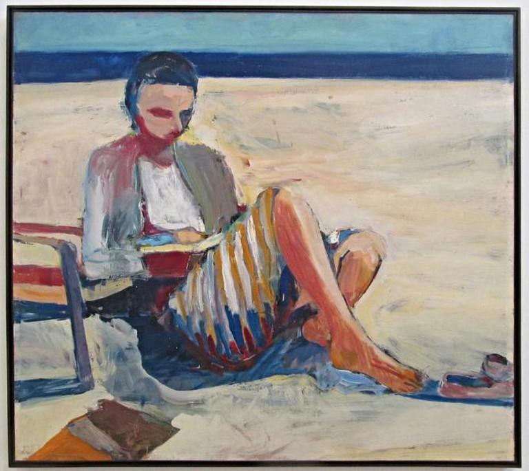 "Diebenkorn ""Girl on the Beach"" | ©rocor/flickr"