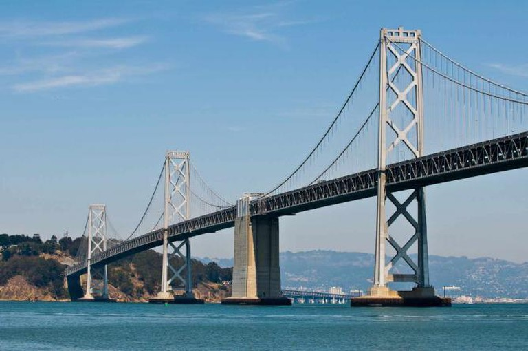 View of the Bay Bridge from Quiver Bar | ©Sean O'Shaughnessy/ Flickr