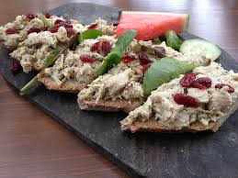 Chicken Salad Sandwich at Blue Dahlia Bistro