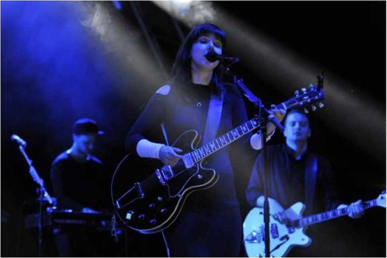 Of Monsters and Men performing at the Shoreline Amphitheater on Saturday June 6th, 2015. (Photo: Steve Jennings)