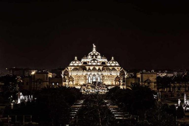 Akshardham temple Delhi | © Waseem Anis/Flickr
